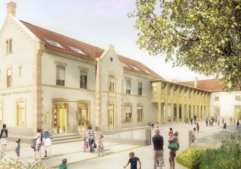 Restructuration et extension des écoles - Le Grand Lemps